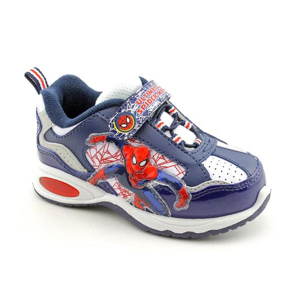 Marvel Spider-Man Boy's 'Lighted Spider Sense Shoes' Synthetic Casual Shoes