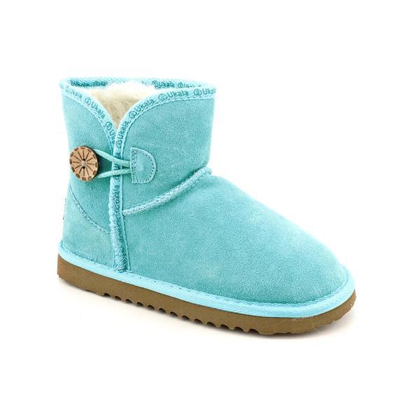 Ukala Girl's 'Stella Mini Kids' Regular Suede Boots