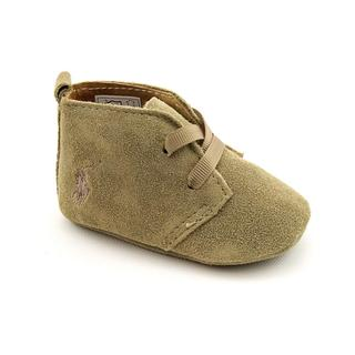 Ralph Lauren Layette Boy's 'Carl' Regular Suede Boots