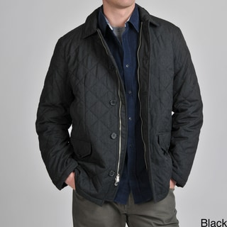 Tasso Elba Men's Quilted Car Coat