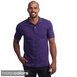 American Apparel Men's Cotton Pique Shirt