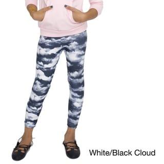American Apparel Girls' Patterned Polyester Spandex Legging