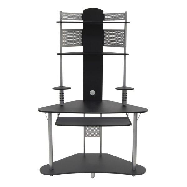 Studio Designs Silver/ Black Arch Tower