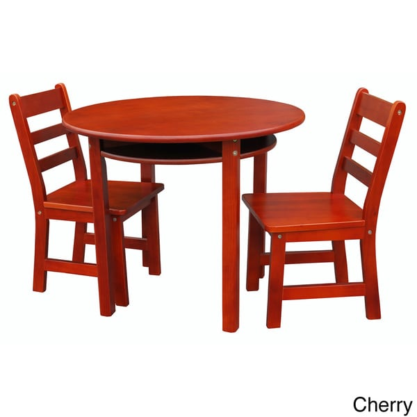 Childrens Round Table and Chair Set Overstock Shopping Great Deals on Kid