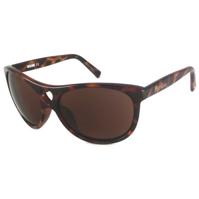 Moschino Women's MO500 Rectangular Sunglasses