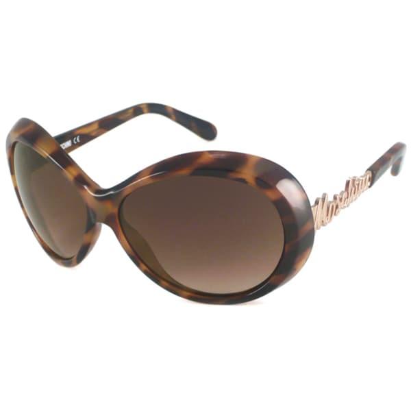 Moschino Women's MO519 Oval Sunglasses