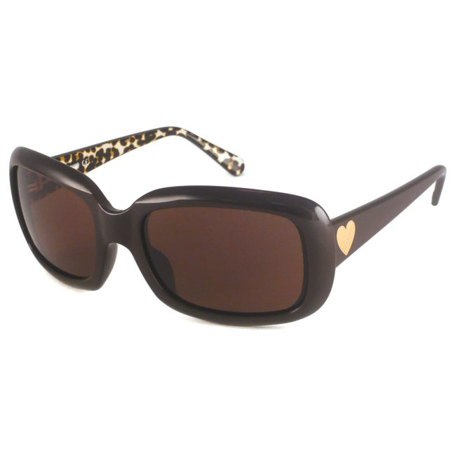 Moschino Women's MO537 Rectangular Sunglasses
