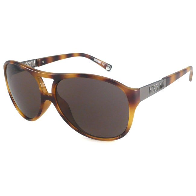 Moschino Women's MO552 Aviator Sunglasses