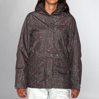 Rip Curl Women's Walk the Line Ski Jacket in Gunmetal