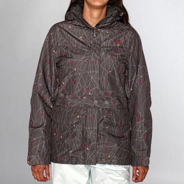Rip Curl Women's Walk the Line Ski Jacket in Gunmetal