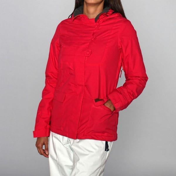 Rip Curl Women's Symphony Ski Jacket in Bright Rose