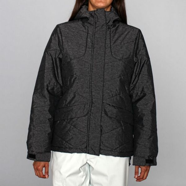 Rip Curl Women's Fizz Puffer Ski Jacket in Black