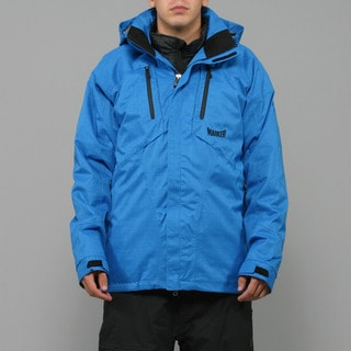 Marker Men's 'Cornice' 3-in-1 Imperial Blue Ski Jacket