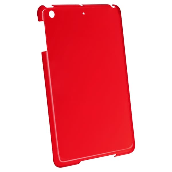 INSTEN Red Snap-on Crystal Tablet Case Cover for Apple iPad Mini
