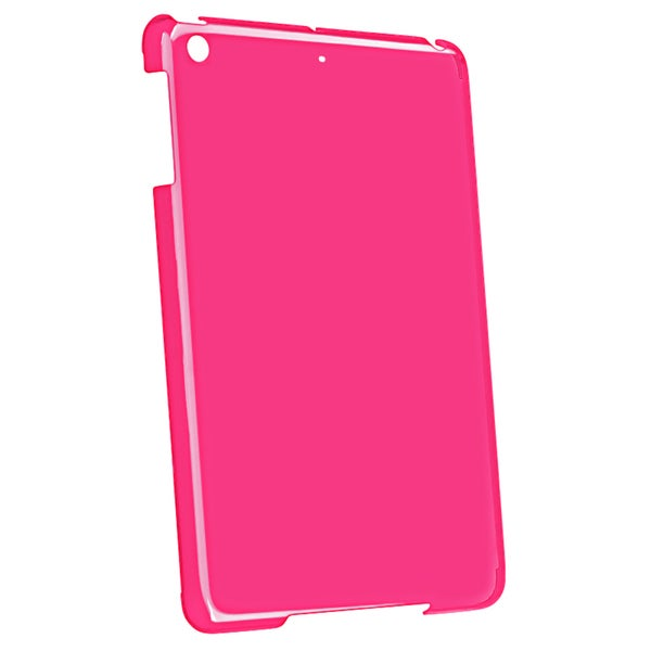 BasAcc Hot Pink Snap-on Crystal Case for Apple iPad Mini
