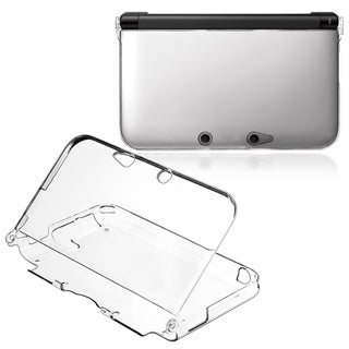 BasAcc Clear Crystal Case for Nintendo 3DS XL
