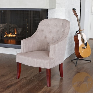 Christopher Knight Home Sophia Chamois Fabric Chair
