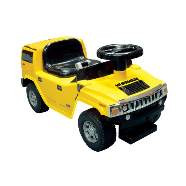 Kid Motorz Yellow Foot to Floor Hummer