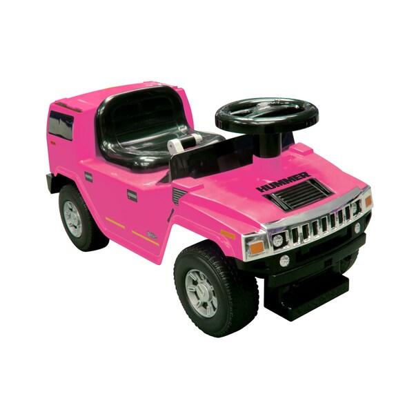 Pink Foot to Floor Hummer