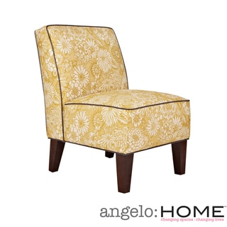 angelo:HOME Dover Vintage Sun-Washed Floral Tan Armless Chair