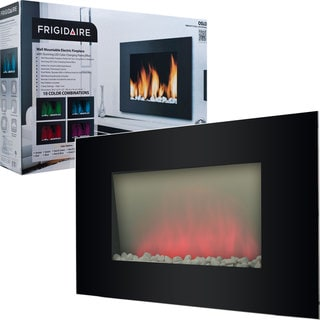 Frigidaire? Oslo Wall Mounted Fireplace with LED Flame