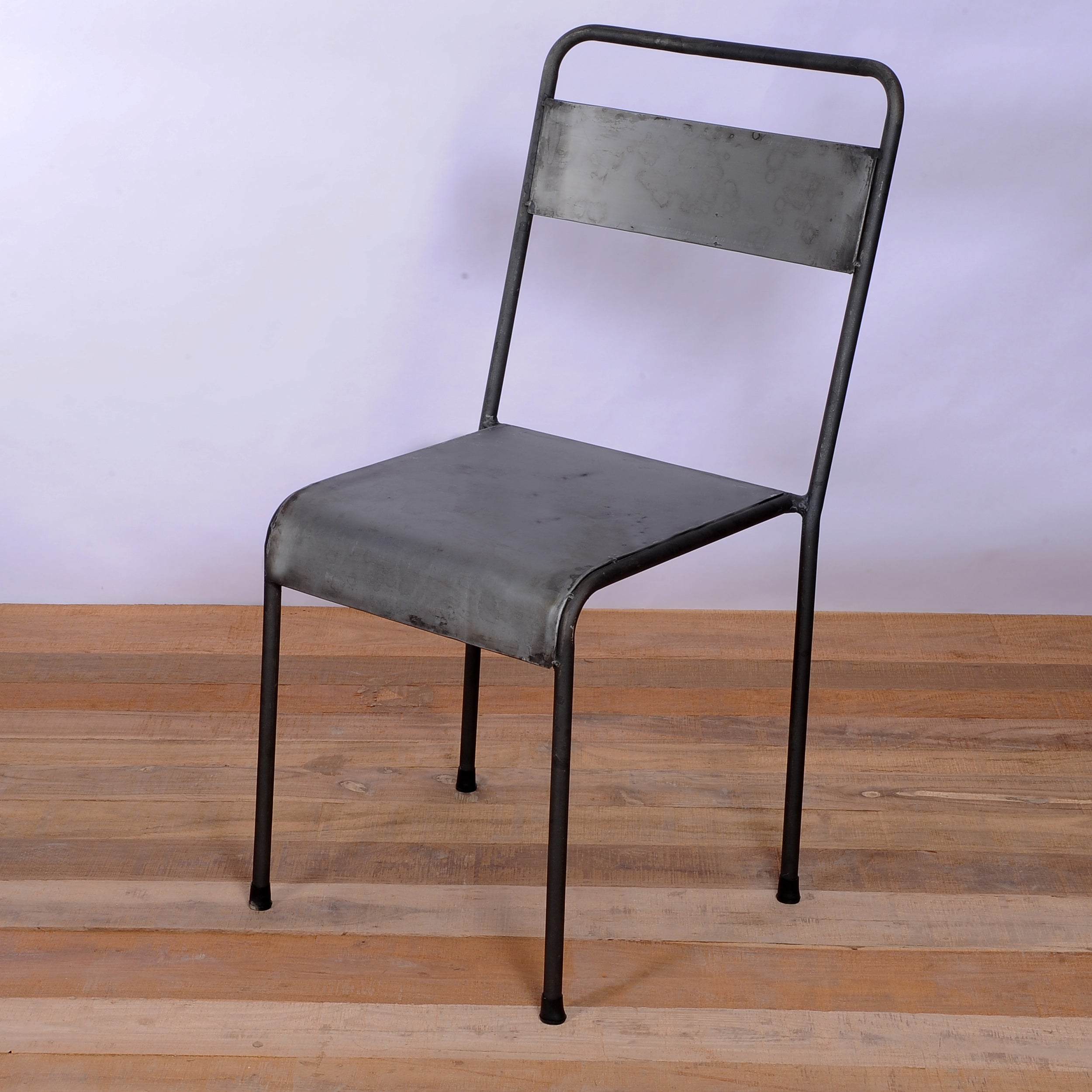 Alleppey Stacking Metal Chair (India)