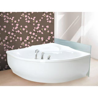 Aquatica PureScape 314 Corner Acrylic Bathtub