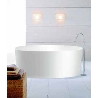 Aquatica PureScape 610M Freestanding AquaStone Bathtub