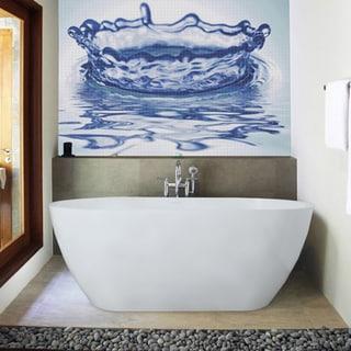 Aquatica PureScape 617A-M Freestanding AquaStone Bathtub