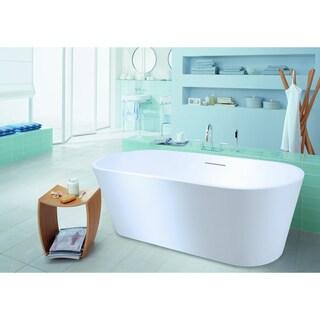 Aquatica PureScape 607M Freestanding AquaStone Bathtub