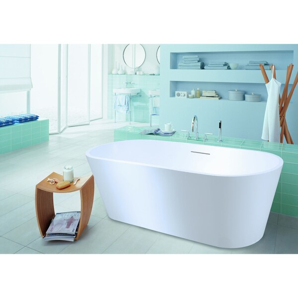 Aquatica PureScape 607M Freestanding AquaStone Bathtub