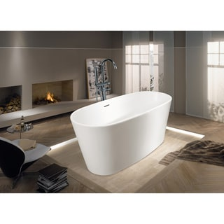 Aquatica PureScape 602M Freestanding AquaStone Bathtub