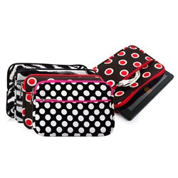 Kroo Printed Design Neoprene Sleeve with Zipper Pocket for 7-inch Tablets