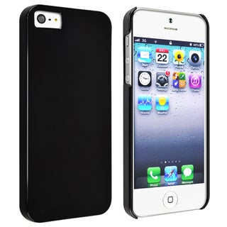BasAcc Black Snap-on Slim Case for Apple iPhone 5
