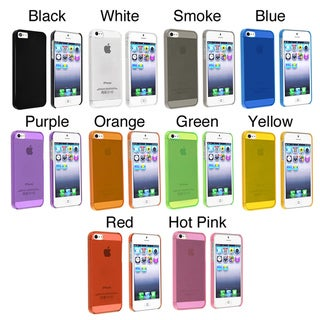 INSTEN Snap-on Slim Phone Case Cover for Apple iPhone 5/ 5S