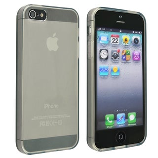 BasAcc Frost Clear Smoke TPU Case for Apple iPhone 5