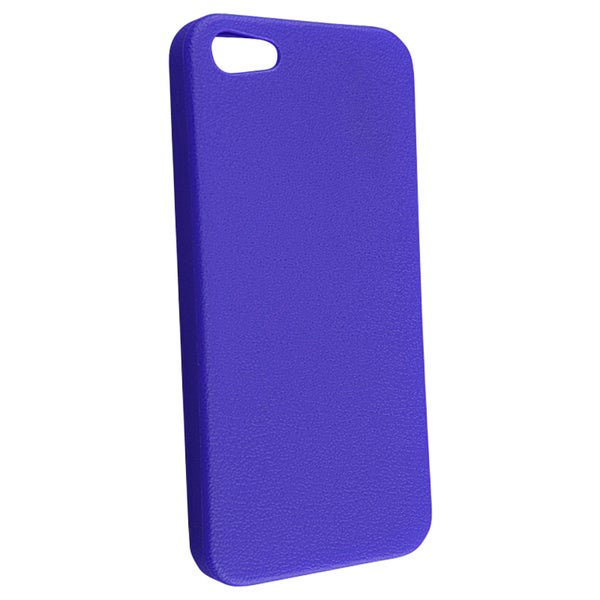INSTEN Blue Skin Veins TPU Phone Case Cover for Apple iPhone 5