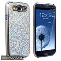 BasAcc Silver Glitter Case for Samsung Galaxy S III/ S3 i9300