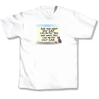 Ask Not What Your Cat T-Shirt