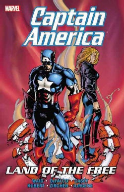 Captain America: Land of the Free (Paperback)