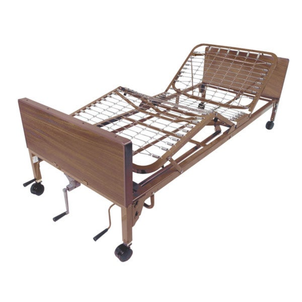 Multi-Height Laminated Manual Hospital Bed