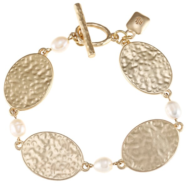 Ralph Lauren Faux Pearl Accent Bracelet