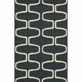 nuLOOM Hand-hooked Moroccan Trellis Grey Wool Rug (6' x 9')