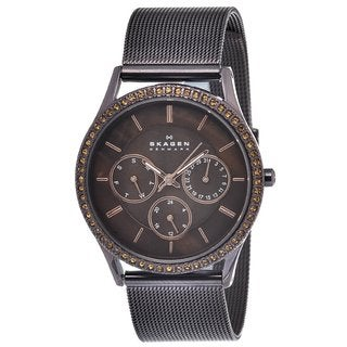 Skagen Women's Multi-function Steel Mesh Watch