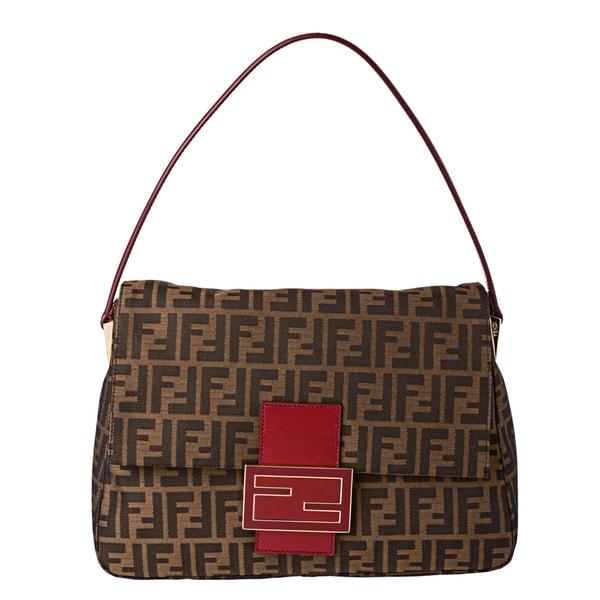 Fendi Zucca Borsa Mamma Shoulder Bag 93