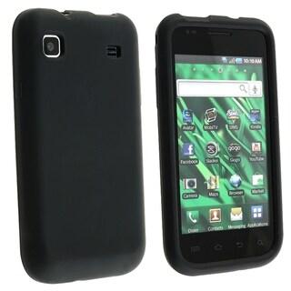 BasAcc Black Silicone Skin Case for Samsung� i9000 Galaxy S