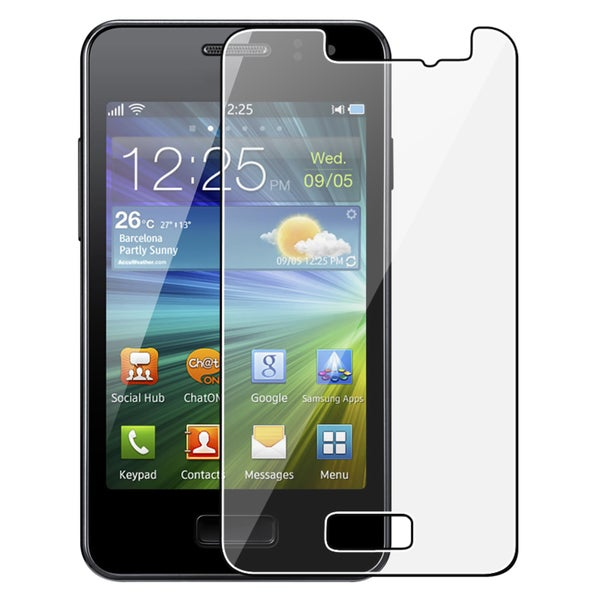 INSTEN Clear Screen Protector for Samsung Wave M S7250