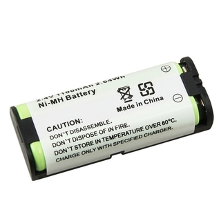 BasAcc Compatible Ni-MH battery for Panasonic HHR-P105 Cordless Phone