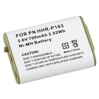BasAcc Compatible Ni-MH battery for Panasonic HHR-P10 Cordless Phone