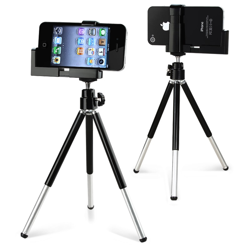 FLY Black Tripod Phone Holder